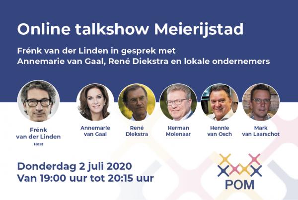 Online talkshow Meierijstad